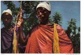 Carte Postale Afrique Congo Usumbura  Notables De L'Urundi Trés Beau Plan - Congo - Kinshasa (ex Zaire)