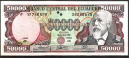 ECUADOR 50000 SUCRES AÑO 1999 UNC - Ecuador