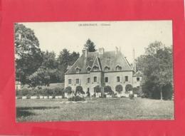 CPA -  Le Deschaux  -  Château - Francia