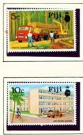FIJI  -  1973 Development Set Unmounted/Never Hinged Mint - Fidji (1970-...)