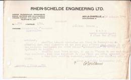 Rhein Schelde Engineering LTD. Aix La Chapelle. - 1900 – 1949