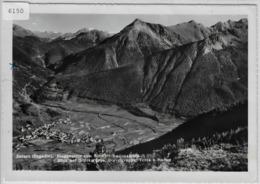 Zernez - Eingangstor Zum Schweiz. Nationalpark, Blick Auf Ortlergruppe, Diavelgruppe, Terza U. Murter - GR Grisons