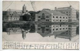 MEDFORD Armory And Catholic Church * Dos Simple - Voyagé 1905 - Etats-Unis