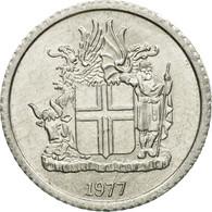 Monnaie, Iceland, Krona, 1977, TTB+, Aluminium, KM:23 - Islande