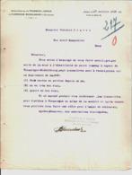Société Pour L'Exploitation Du Chemin De Fer Vicinal De Bruxelles à La Petite Espinette. Bruxelles. 1911. - Belgique