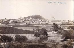 Carte Photo : Denia (Espagne  Prov Alicante)  Vista General   N° 10      1911 - Lieux
