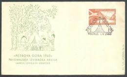 Yugoslavia, 1960-05-01, Croatia, Vojnic, Petrova Gora, Scouts, Spec Postmark & Cover - Altri