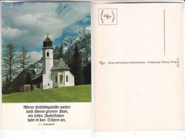 SP- ALLEMAGNE - Wenn Sruhlingslufte Wehen - J. V. EICHENDORFF - Eglise - Montagnes - - Alemania