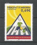 ANDORRE ANDORRA ANNE 2002 N°565 NEUF** NMH - Ongebruikt