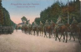 ***  Kriegsbilder Aus Den Vosgesen - Ultanen Auf Dem Marche - Neuve/unused - Manoeuvres