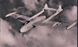 Aviation, Avion De L'Armée Suisse, Venom En Vol (168) - Aérodromes