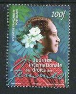 """TIMBRE** De 2019 Gommé De POLYNESIE """"100F - JOURNEE INTERNATIONALE DES DROITS DES FEMMES"""" - Polynésie Française"""