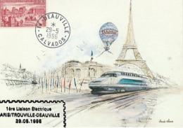 PARIS DEAUVILLE 1996 - Trains