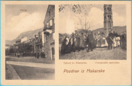 MAKARSKA - Procesija ( Ophod ) Sv. Klementa * Croatia * Travelled RRRR - Croatia