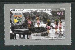 """TIMBRE** De 2019 De POLYNESIE Fr Autoadhésif """"80f - 40 Ans Du Conservatoire Artistique De Polynésie"""" - Polynésie Française"""