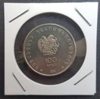 ARMENIA 100 DRAM CHESS OLYMPIAD 1996 KM 69 COIN - Armenië