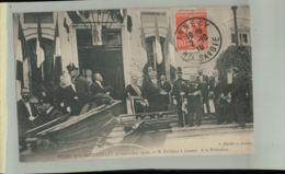 CPA 74 Annecy Fêtes Présidentielles ( 5 Septembre 1910 )  M. Fallières à La Gare - Très Gros Plan  -2019 Oct Chris 103 - Annecy
