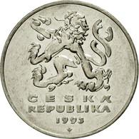 Monnaie, République Tchèque, 5 Korun, 1993, SUP, Nickel Plated Steel, KM:8 - Tchéquie