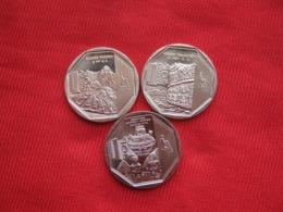 Perú 3 Commemorative Coins 2 - Perú