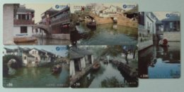 CHINA - China Calling Card - CNT - Prepaid - CNT-300-2 - Issued In 2000 - Set Of 5 - Used - China