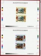 Korea 1990 SC #2888-89, Deluxe Proofs, Stone Age Man, Prehistory - Archéologie