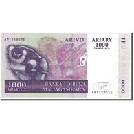Billet, Madagascar, 1000 Ariary, 2004, Undated, KM:89a, NEUF - Madagascar