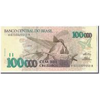 Billet, Brésil, 100,000 Cruzeiros, 1993, Undated, KM:235c, NEUF - Brasilien
