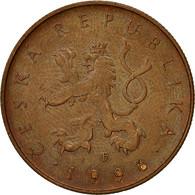 Monnaie, République Tchèque, 10 Korun, 1996, TTB, Copper Plated Steel, KM:4 - Tchéquie