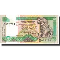 Billet, Sri Lanka, 10 Rupees, 1992, 1992-07-01, KM:102b, NEUF - Sri Lanka