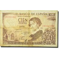 Billet, Espagne, 100 Pesetas, 1965, 1965-11-19, KM:150, TB - [ 3] 1936-1975 : Regime Di Franco