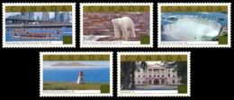 Canada (Scott No.1990a-e - Attractions Touristique / Tourist Attractions) [**] Carnet Autocollant / Self Adhesive Stamps - Neufs