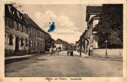 CPA AK Kehl- Hauptstrasse GERMANY (903473) - Kehl