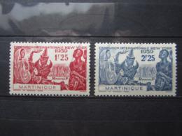 VEND BEAUX TIMBRES DE MARTINIQUE N° 168 + 169 , XX !!! - Martinique (1886-1947)