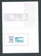 Australian Antarctic Territory 1987 Replica Card Of Proofs Of 1959 Unissued Stamps - Territoire Antarctique Australien (AAT)