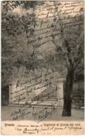 61lth 436 CPA - TRIESTE INGRESSO AL BOSCO DEI PINI - Trieste