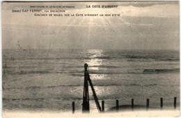 61lth 2043 CPA - CAP FERRET - COUCHER DE SOLEIL - France