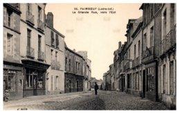 44 PAIMBOEUF - La Grande Rue, Vers L'Est - Paimboeuf