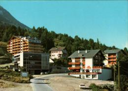 ! Moderne Ansichtskarte Nendaz Station, Bergbahn, Wallis, Suisse, Schweiz - VS Valais