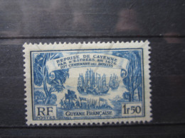 VEND BEAU TIMBRE DE GUYANE N° 139 , (X) !!! - Guyane Française (1886-1949)