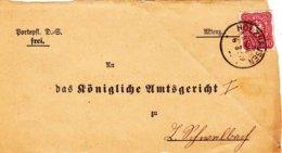 Holzhausen A.d.Haide, Vorderteil Eines Briefes - Documents Historiques