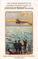 Visitez Son Stand Avec Comptoir De Vente à L'Exposition Bruxelles 1910 - Chocolat Baron Anvers - ....-1914: Précurseurs