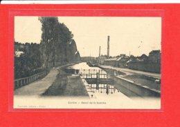 80 CORBIE Cpa ECLUSE Canal De La Somme    Edit Candeille - Corbie