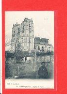 80 CORBIE Cpa Animée Eglise Saint Pierre   43  Edit Lavallard - Corbie