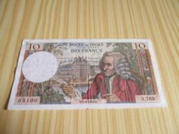 France.Billet 10 Francs Voltaire 01/06/1972. - 1962-1997 ''Francs''