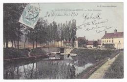 71 Montchanin Les Mines Vers Le Creusot N°14 Bois Bretoux Boulanger Aubergiste En 1905 B.F Chalon Sur Saône - Le Creusot