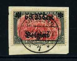 LP IN BELGIEN 1916 Nr 25I Gestempelt (113793) - Besetzungen 1914-18