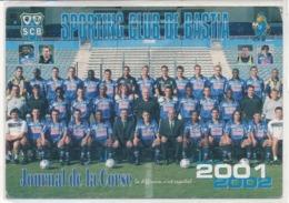 Cpsm  Football Sporting Club De Bastia - Soccer