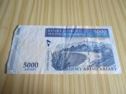Madagascar.Billet 5000 Ariary - 25000 Francs. - Madagascar