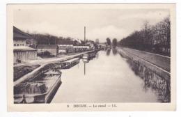 58 Decize N°9 Le Canal Péniche Grande Cheminée - Decize