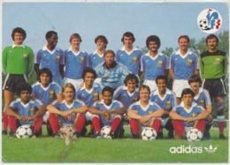 Cpsm  Football  L'Equipe De France 1981 - Calcio